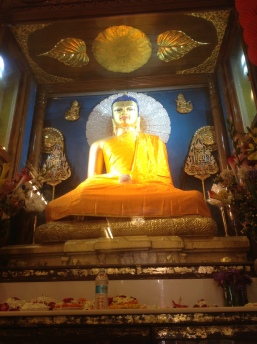 Lord Buddha inside the main temple