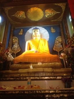 Lord Buddha inside the main temple