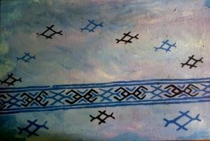 River Ayarwaddy 45X30 cm oil on canvas 2008